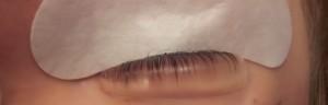 Web eyelash lift