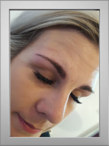 Microblading after Jo K