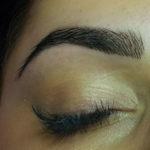 Eyebrow shape and tint