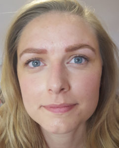 Microblading aftercare post treatment with The Lashologist